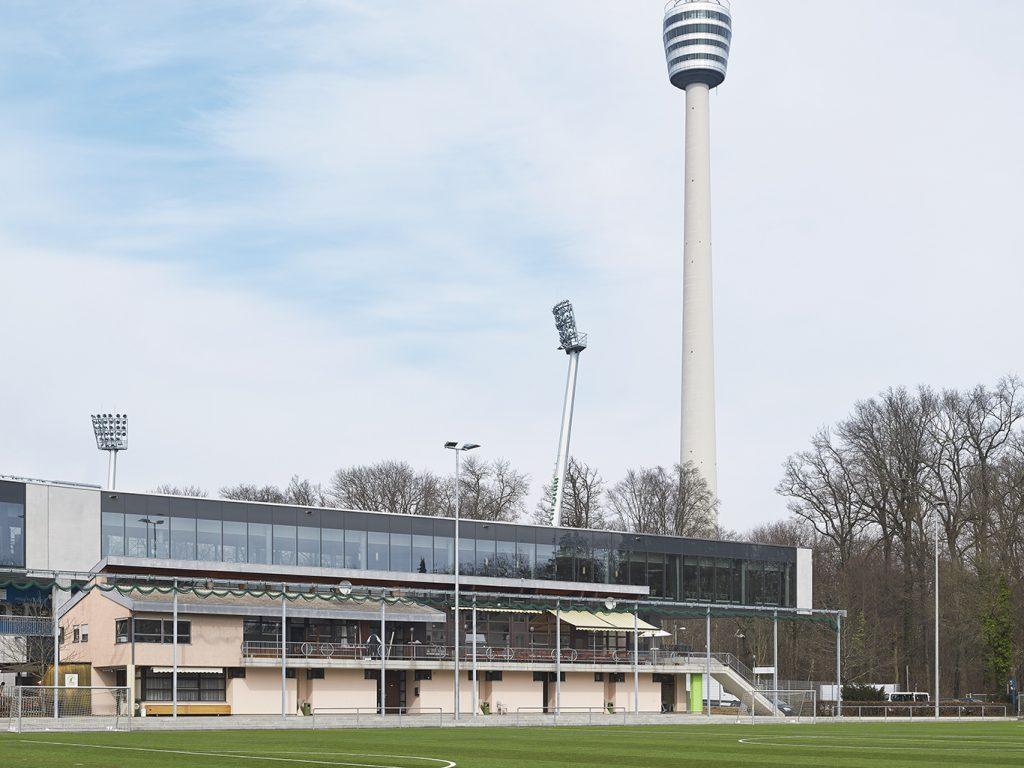 15_SO: VIP-Lounge (Im Vordergrund-SV Eintracht 1896 Stuttgart e.